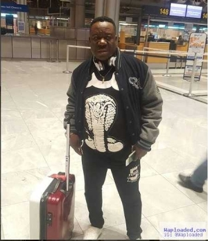 See Fabulous Pictures of Mr Ibu as He Tours Europe In Style